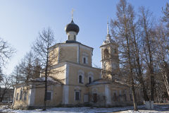 Church of the Beheading of John the Baptist in Roschene  Vologda Stock Image
