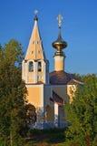 Church of the Beheading of St. John the Baptist near Kremlin in Suzdal, Russia Royalty Free Stock Photo