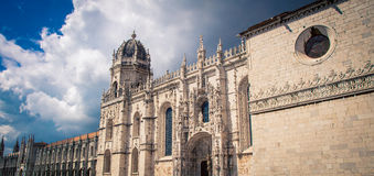Church in Belem Portugal Royalty Free Stock Photos