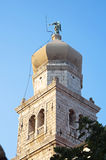 Church Belfry Krk Stock Photo
