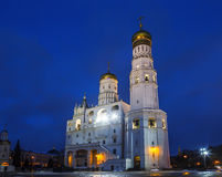 Church-belfry of St. John Climacus Ivan the Great Bell tower of the Moscow Kremlin, Moscow. Russia royalty free stock photos