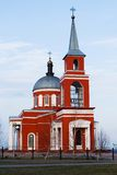 Church in Belgorod region, Russia Stock Photo