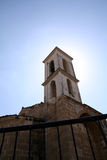 Church Bell. Infront of the sun Stock Images