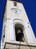 Church Bell and Clock Tower Stock Photography