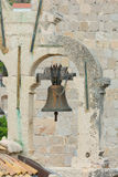 Church bell Dubrovnik Croatia Royalty Free Stock Photos