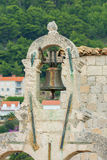 Church bell Dubrovnik Croatia Royalty Free Stock Photography