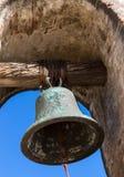 Church Bell. A church bell at Mission San Juan Capistrano royalty free stock photo