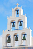 Church bell in santorini Royalty Free Stock Photography