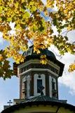 Church Bell, Sinaia Monastery, Romania. The Church Belll Tower of Sinaia Monastery in autumn royalty free stock photo
