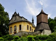 Church and bell tower Royalty Free Stock Photo