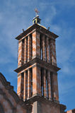 Church bell tower. Of cathedral in Tijuana, Mexico Stock Photography