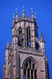 Church bell tower, Boston, England. Royalty Free Stock Image