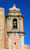 Church bell tower / Erice Stock Photos