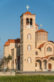 Church bell tower at Erimi, Cyprus Stock Photo