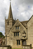 Church bell tower , Lacock Royalty Free Stock Image