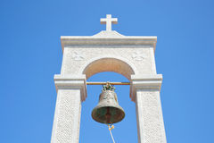 Church bell tower in Malia. Stock Image