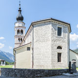 Church and bell tower Royalty Free Stock Image