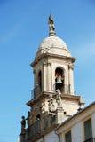 Church bell tower, Priego de Cordoba. Royalty Free Stock Photo
