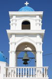 Church bell tower in Santorini Royalty Free Stock Photos