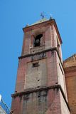 Church bell tower, Torrox, Spain. Church bell tower in the centre of town, Torrox, Costa del Sol, Malaga Province, Andalusia, Spain, Western Europe Stock Photography