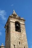 Church bell tower, Vejer de la Frontera. Stock Photo