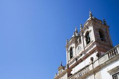 Church with bells. And blue sky Royalty Free Stock Image