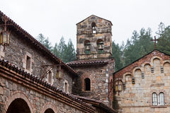 Church Bells atop a Castle Royalty Free Stock Photography