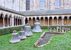 Church bells in Collegiate Church of Saint Gertrude Royalty Free Stock Image