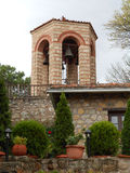 CHURCH BELLS IN THE GREAT METEORON MONASTERY, GREECE Stock Images