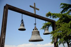 Church bells Stock Images