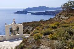 Church Bells - Santorini in Greece Royalty Free Stock Photo