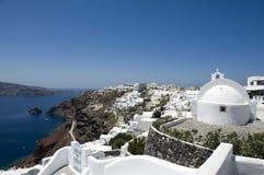 Church bells on Santorini island. Greece Royalty Free Stock Photos