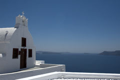 Church bells on Santorini island Royalty Free Stock Photo