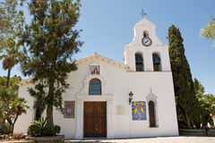 Church of benalmadena (Spain) Royalty Free Stock Photography