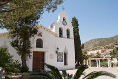 Church of benalmadena (Spain) Stock Photo
