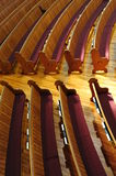 Church bench Royalty Free Stock Photo