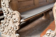 Church Benches Stock Photography