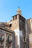 Church of Benedictine Monastery in Catania, Sicily Stock Image