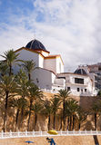 Church in Benidorm Stock Image