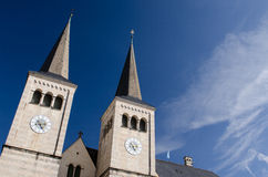 Church in Berchtesgaden Royalty Free Stock Images