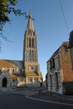 Church of Bernieres-sur-mer. Normandy, France Royalty Free Stock Image