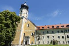 Church at Bernried at Starnberg lake Bavaria Royalty Free Stock Image