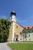 Church at Bernried at Starnberg lake Bavaria Royalty Free Stock Images