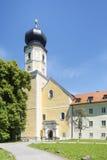 Church at Bernried at Starnberg lake Bavaria Stock Photo