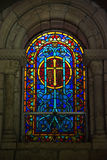Church beveled glass Stock Photo