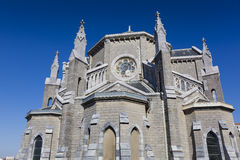 Church of Biarritz. Aquitaine, France Stock Photography