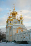 Church of the Big Palace, Peterhof, Russia Stock Photography