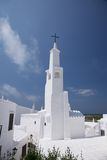 Church of Binibeca at Menorca Royalty Free Stock Photos