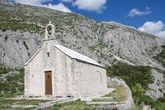 Church on Biokovo mountain Royalty Free Stock Photography