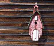 Church Bird House Stock Photography